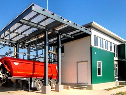 Sludge Dewatering Station (SDS) & Sludge Pumping Station (SPS)